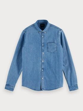 Shirt mit Brusttasche aus Bio-Baumwolle