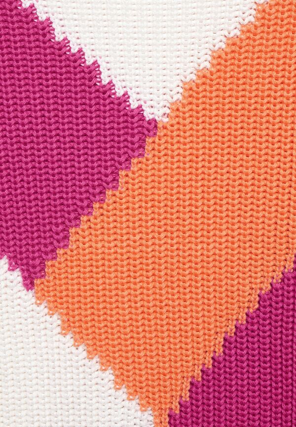 Pullover mit Colourblock
