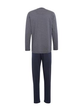 Pyjama mit gestreiftem Oberteil