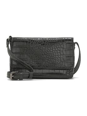 MARIS Flap bag, croco black