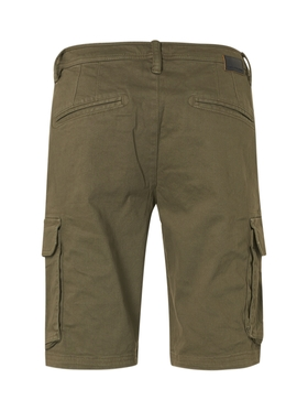 Short Cargo Garment Dyed Stretch