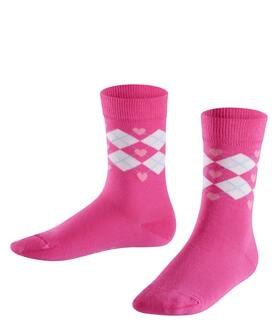 Socken Hearts Argyle