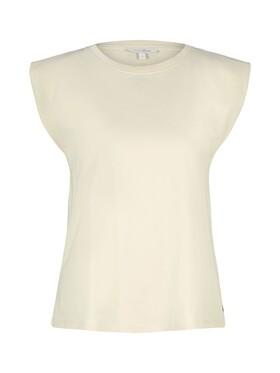 Ärmelloses Shirt mit weiten Schultern