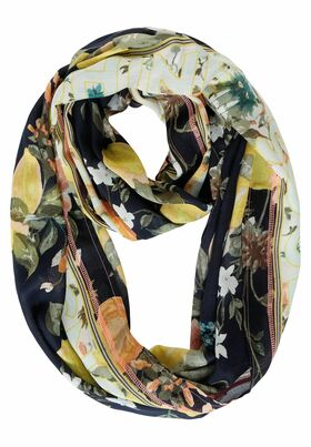 Loop mit Blumen Print