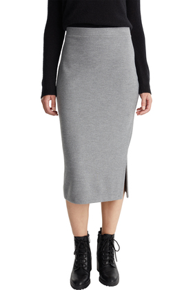 Women Skirts knitted midi