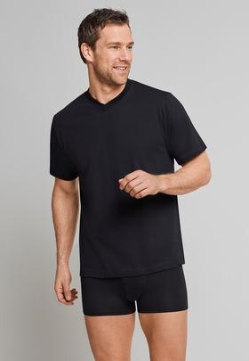 American T-Shirt V-Ausschnitt