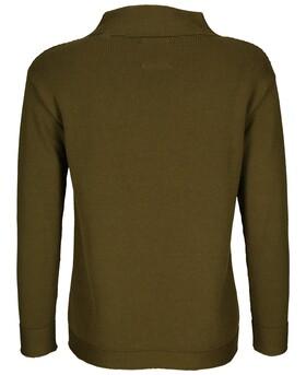Pullover mit Struktur-Mix
